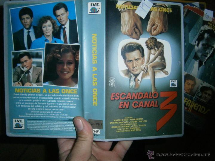 ESCANDALO EN CANAL 3 -VHS (Cine - Películas - VHS)