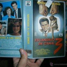 Cine: ESCANDALO EN CANAL 3 -VHS. Lote 54971988