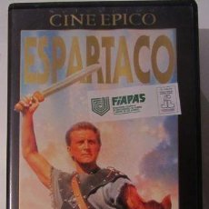 Cine: ESPARTACO VHS VIDEO. Lote 55017284