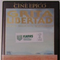 Cine: GRITA LIBERTAD VHS VIDEO. Lote 55017306