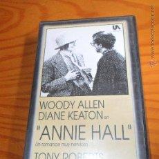 Cine: ANNIE HALL - WOODY ALLEN - VHS. Lote 55030802