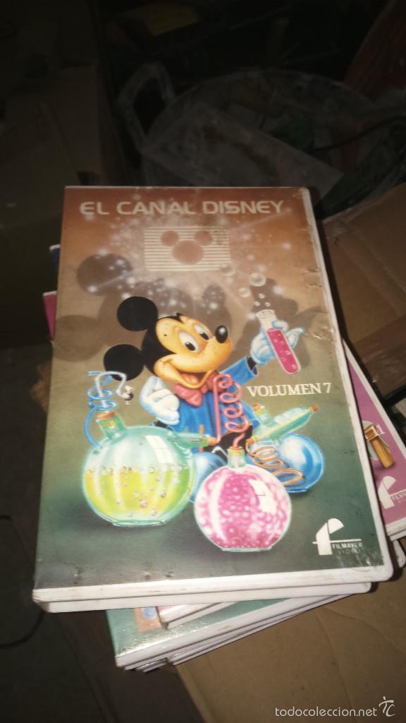CANAL DISNEY VOLUMEN 7 - BETAMAX (Cine - Películas - VHS)