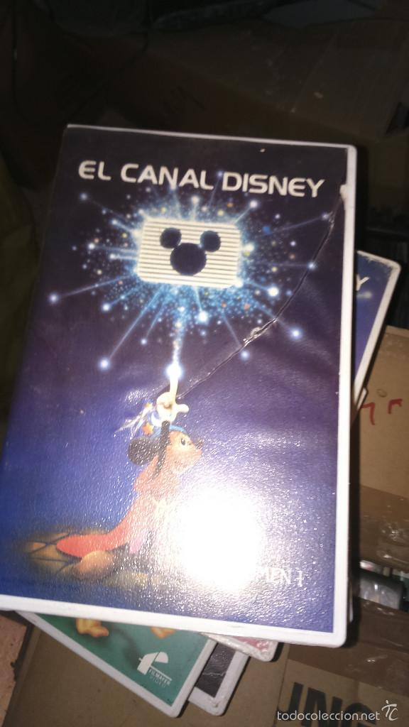 CANAL DISNEY VOLUMEN 1 - BETAMAX (Cine - Películas - VHS)