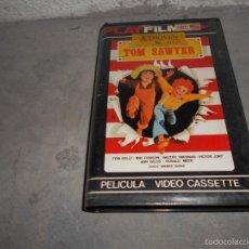 Cine: PELICULA VHS DIBUJOS ANIMADOS ANIMACION AVENTURAS TOM SAWYER. Lote 55179990