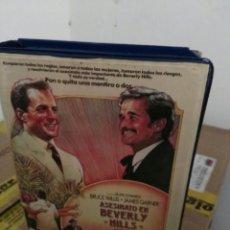 Cine: ASESINATO EN BEVERLY HILLS - VHS. Lote 55224893