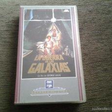 Cine: STAR WARS -- LA GUERRA DE LAS GALAXIAS -- VHS -- CBS FOX VIDEO -- 1990. Lote 55367000