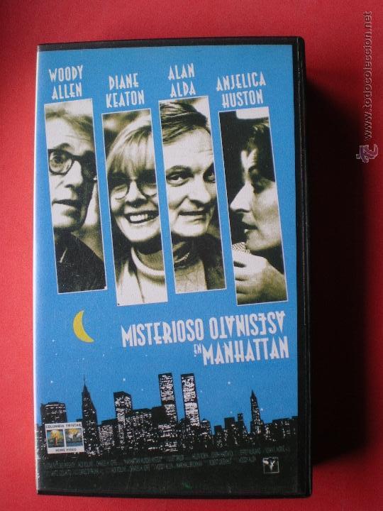 PELICULA VHS, MISTERIOSO ASESINATO EN MANHATTAN, DE WOODY ALLEN, AÑO 1993 (Cine - Películas - VHS)