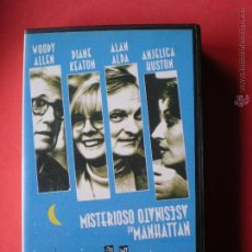 Cine: PELICULA VHS, MISTERIOSO ASESINATO EN MANHATTAN, DE WOODY ALLEN, AÑO 1993. Lote 40661095