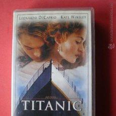 Cine: PELICULA TITANIC VHS. Lote 40662505