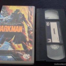 Cine: DARKMAN VHS-. Lote 55554857