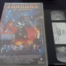 Cine: ZARKORR EL INVASOR -VHS GODZILLA-. Lote 55555347