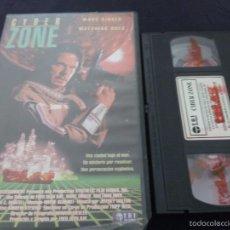 Cine: CYBER ZONE -FRED OLEN RAY-VHS TERROR. Lote 55555408