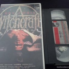 Cine: WITCHCRFT -BRUJERIA-TERROR VHS. Lote 55555728