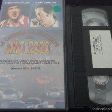 Cine: LA CARRERA DE LA MUERTE DEL AÑO 2000. Lote 55557838
