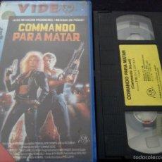 Cine: COMMANDO PARA MATAR (COMMANDO SQUAD) -FRED OLEN RAY-. Lote 55558299