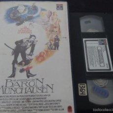 Cine: LAS AVENTURAS DEL BARÓN DE MUNCHAÜSEN (TERRY GILLIAN, 1989) CAJA GRANDE! . Lote 55560043