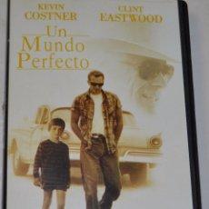 Cine: UN MUNDO PERFECTO-KEVIN COSTNER Y CLINT EASTWOOD-1994. Lote 55696222