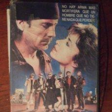 Cine: ZONA DE PELIGRO - GEOFFREY G. BOWERS - JASON WILLIAMS , ROBERT RANDOM , JANE HIGGINSON - CB 1989. Lote 55909151