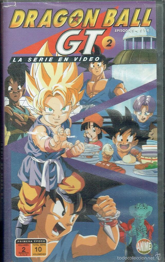 DRAGON BALL GT 2. EPISODIOS 4,5, Y 6 (Cine - Películas - VHS)