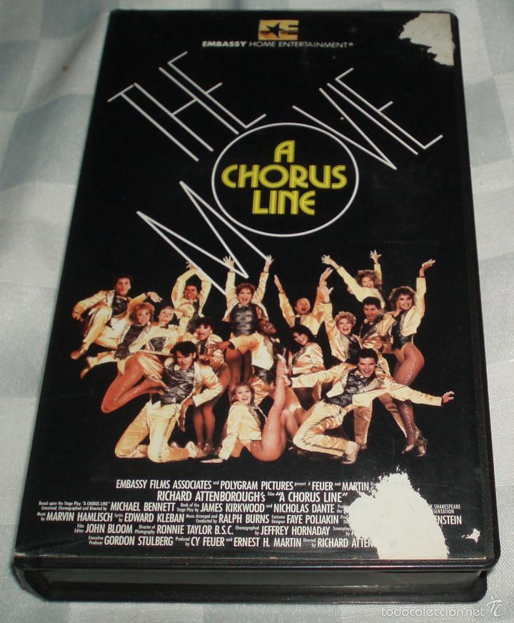 THE MOVIE A CHORUS LINE (Cine - Películas - VHS)