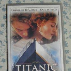 Cine: VENDO PELICULA VHS, TITANIC.. Lote 56053696