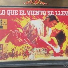 Cine: LO QUE EL VIENTO SE LLEVÓ - EDICIÓN DE LUJO CON DOS CINTAS VHS. Lote 56228119