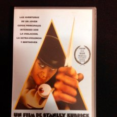 Cine: LA NARANJA MECANICA VHS STANLEY KUBRICK. Lote 56234007