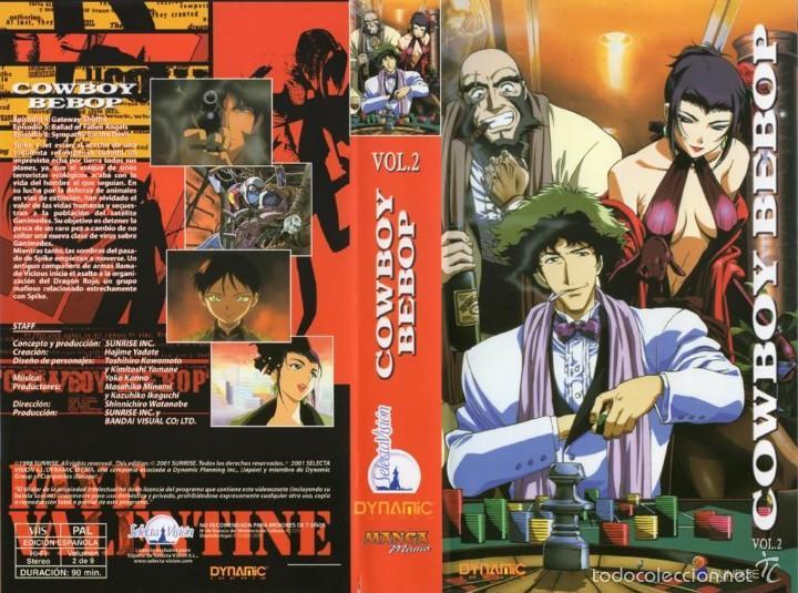vhs cowboy bebop vol2 anime japones cien comprar