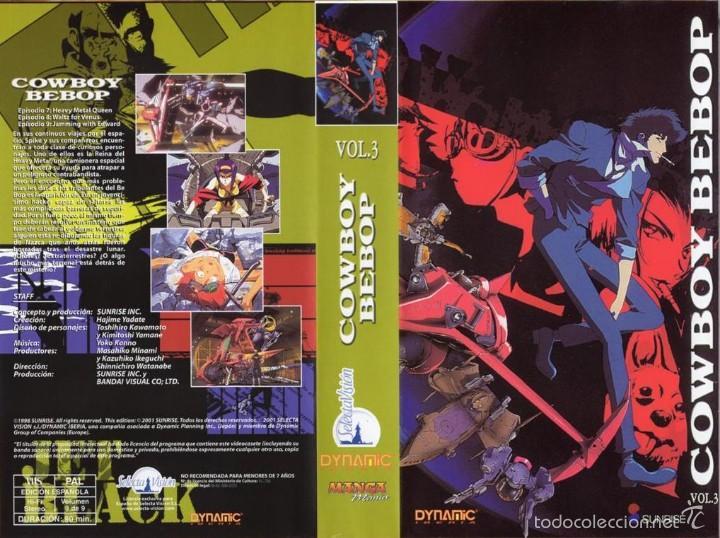 Vhs Cowboy Bebop Vol 3 Anime Japones Cien Vendido