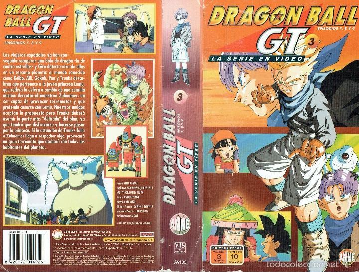 DRAGON BALL GT 3. EPISODIOS 7, 8 Y 9 (Cine - Películas - VHS)