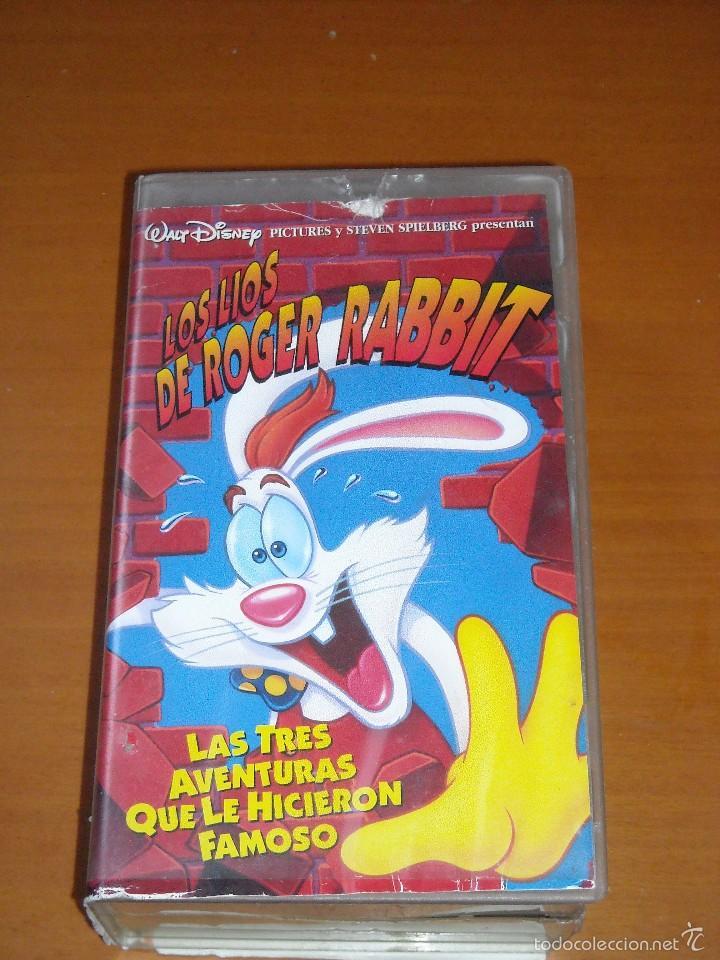 vhs - ¿quien engañó a roger rabbit? (robert zem - Comprar Películas ...