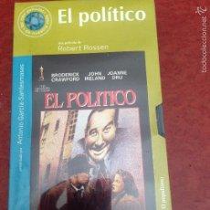 Cine: PELICULA VHS EL POLITICO - COLECCIÓN DEL MUNDO LAS CIEN PELÍCULAS DE NUESTRA VIDA Nº 49. Lote 56567291