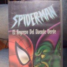 Cine: SPIDERMAN EL REGRESO DEL DUENDE VERDE - MARVEL - BUENA VISTA HOME 2002. Lote 56642164