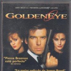 Cine: GOLDEN EYE - JAMES BOND - MGM/UA WARNER HOME VIDEO 1996 VHS. Lote 56729619