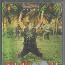 Cine: PLATOON - DREAM TIME ENTERTAINMENT. VHS. Lote 56742653