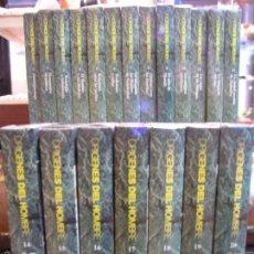 Cine: COLECCION COMPLETA 20 VHS ORIGENES DEL HOMBRE. Lote 56743189