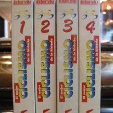 Cine: COLECCION 4 VHS EL MEJOR CICLISMO DE LA HISTORIA. Lote 56743439