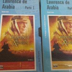 Cine: VHS 2 CINTAS LAWRENCE DE ARABIA. Lote 56803642