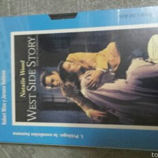 Cine: VHS WEST SIDE STORY. Lote 56805413