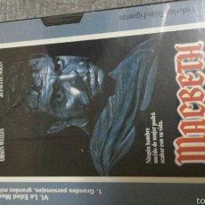 Cine: VHS MACBETH. Lote 56805632