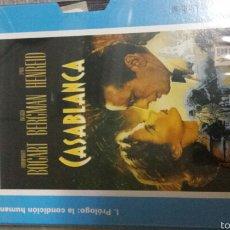 Cine: VHS CASABLANCA. Lote 56805774