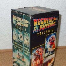 Cine: REGRESO AL FUTURO TRILOGIA - CIC VIDEO - PELICULAS VHS. Lote 57108838