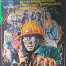 Cine: SUBHUMANOS — VHS — DONALD PLEASANCE. Lote 111549014