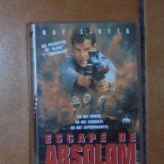 Cine: PELÍCULA VHS - ESCAPE DE ABSOLOM. Lote 57124060