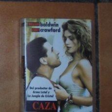 Cine: PELÍCULA VHS - CAZA LEGAL. Lote 57124087