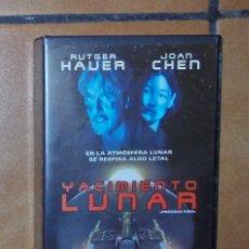 Cine: PELÍCULA VHS - YACIMIENTO LUNAR. Lote 57124374