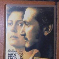 Cine: PELÍCULA VHS - PENA DE MUERTE. Lote 57124668