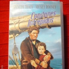Cine: VHS CAPITANES INTRÉPIDOS. SPENCER TRACY Y MICKEY ROONEY. Lote 57180310