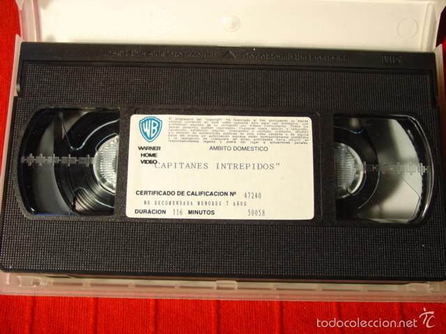 Cine: VHS Capitanes Intrépidos. Spencer Tracy y Mickey Rooney - Foto 2 - 57180310