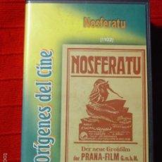 Cine: VHS NOSFERATU DE F.W. MURNAU. PRANA-FILM GMBH. 1922. Lote 57186330